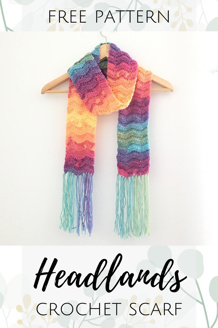 headlands scarf crochet pattern