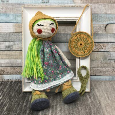 AD30CMBP-4 collectible handmade dolls