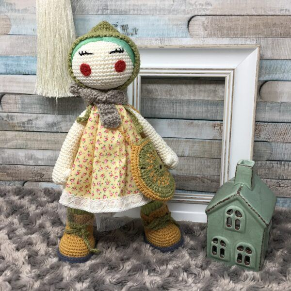 Doll with Bonnet AD30CMBP-5