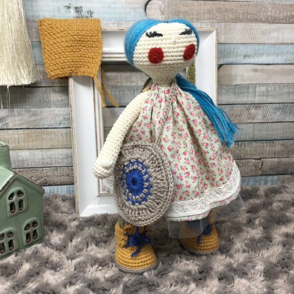 Doll with Bonnet AD30CMBP-6