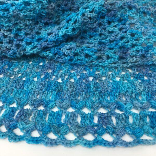 Blue Shawl ASC-1006
