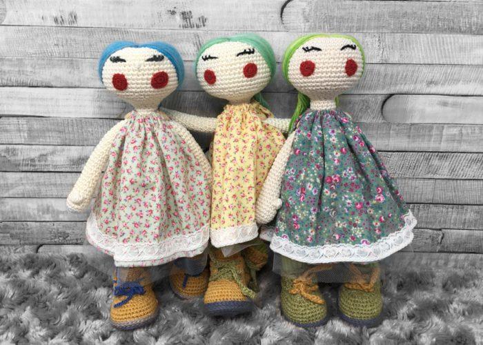 Nordic Handmade Heirloom dolls