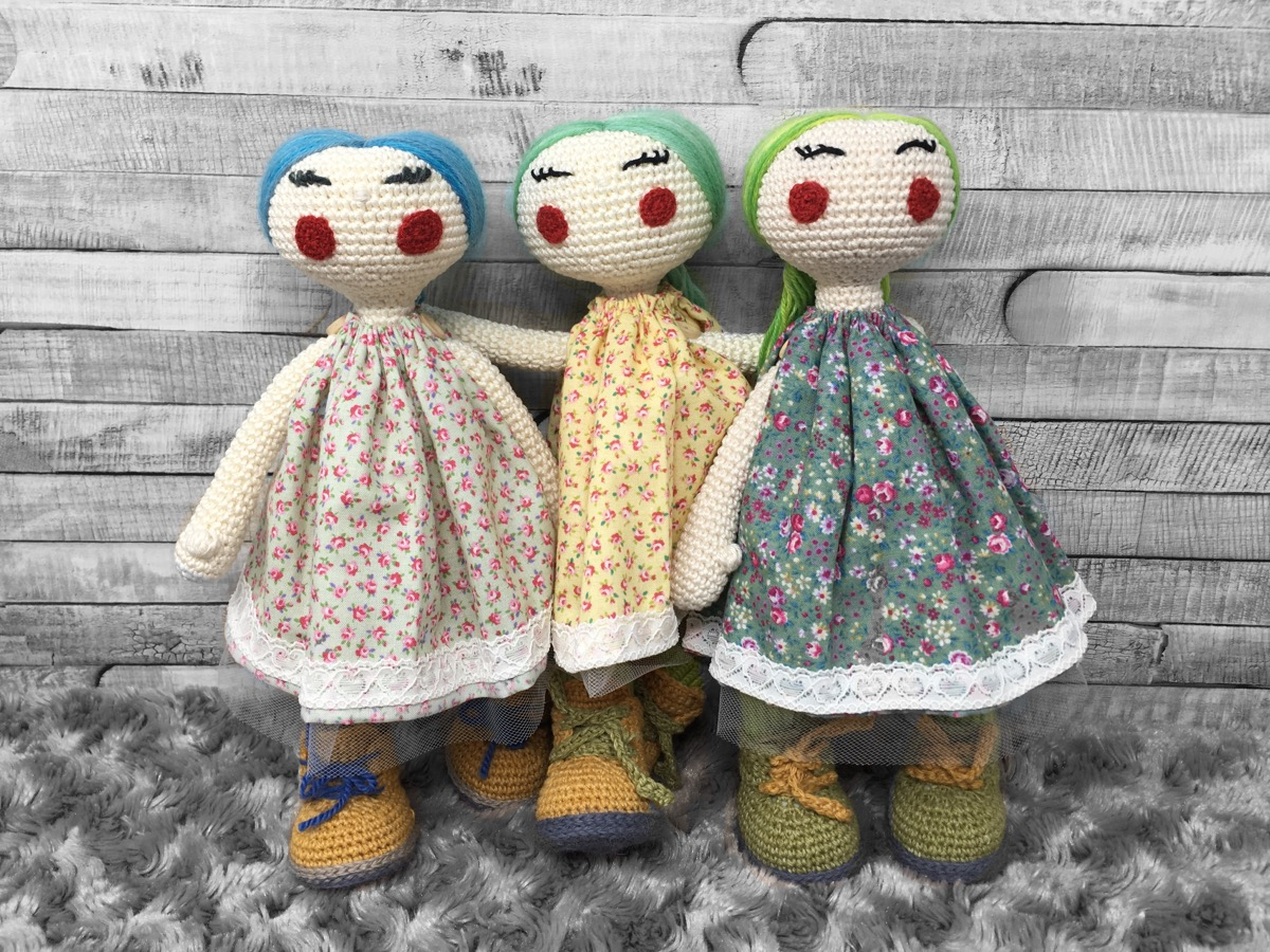 Nordic Handmade Heirloom dolls