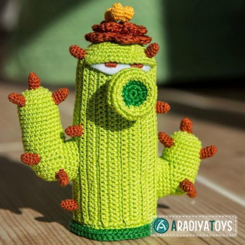 Cactus plants vs zombies