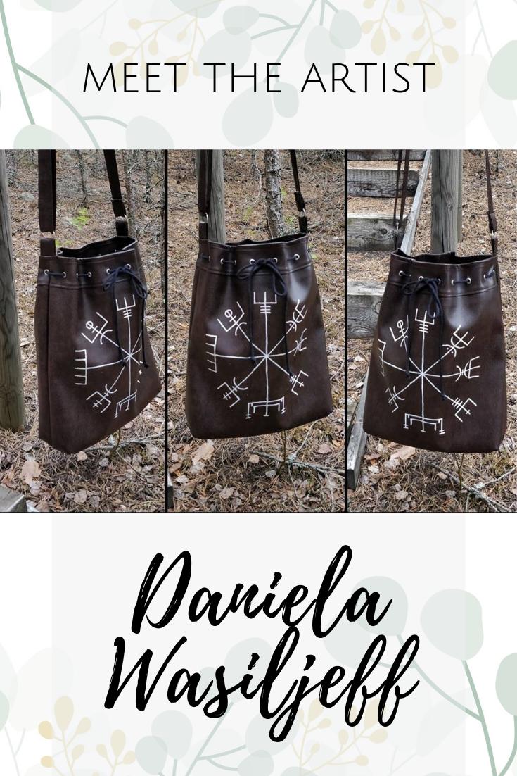 meet the artist Daniela Wasiljeff pinterest